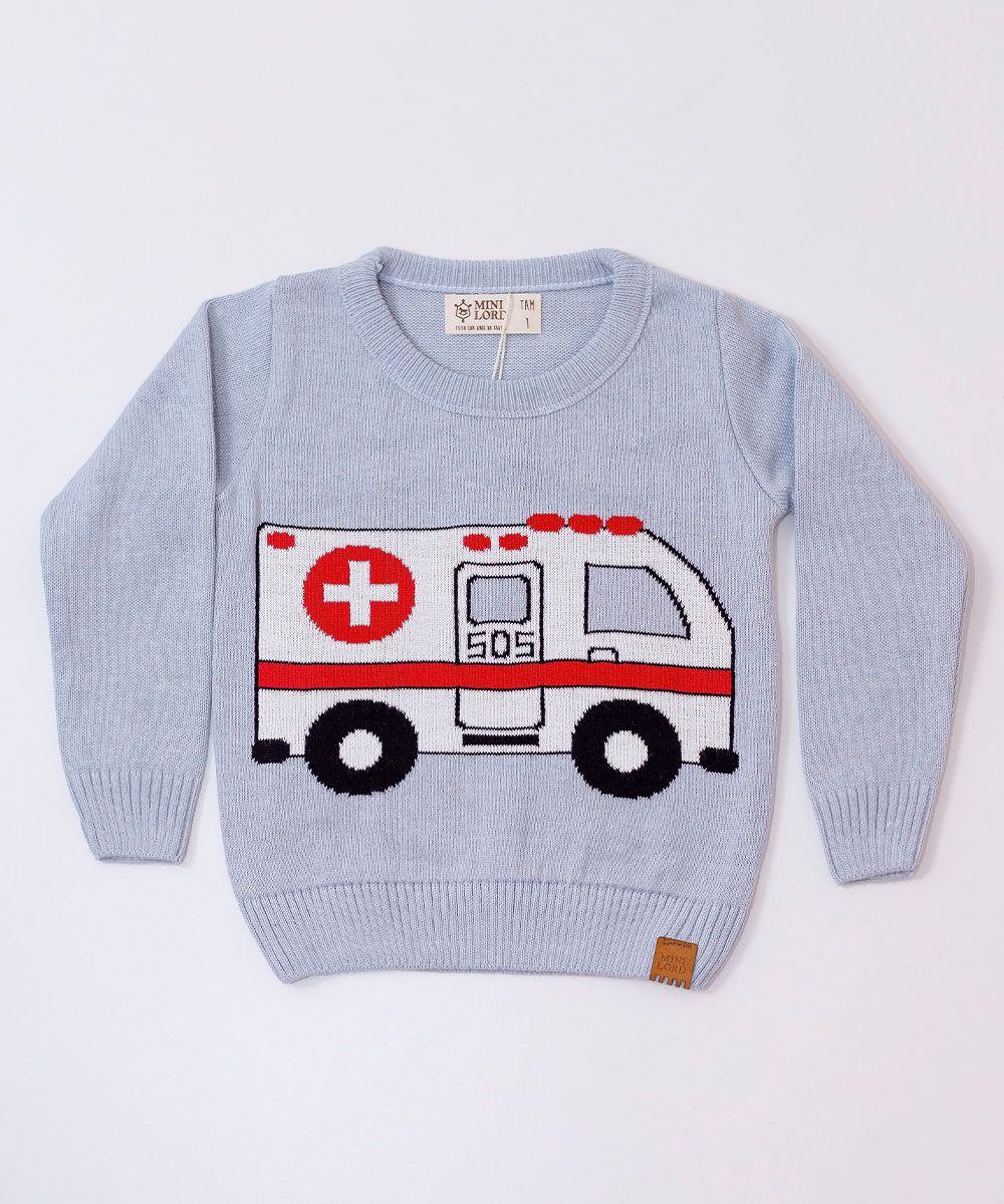 Sweater Tricot Infantil Menino Frederick