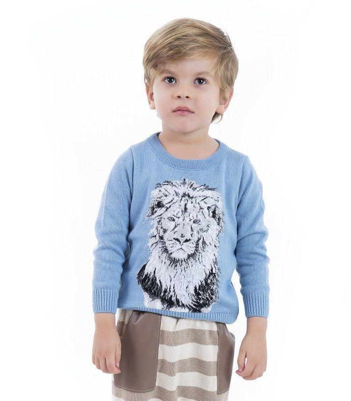 Sweater Tricot Infantil Menino Harley