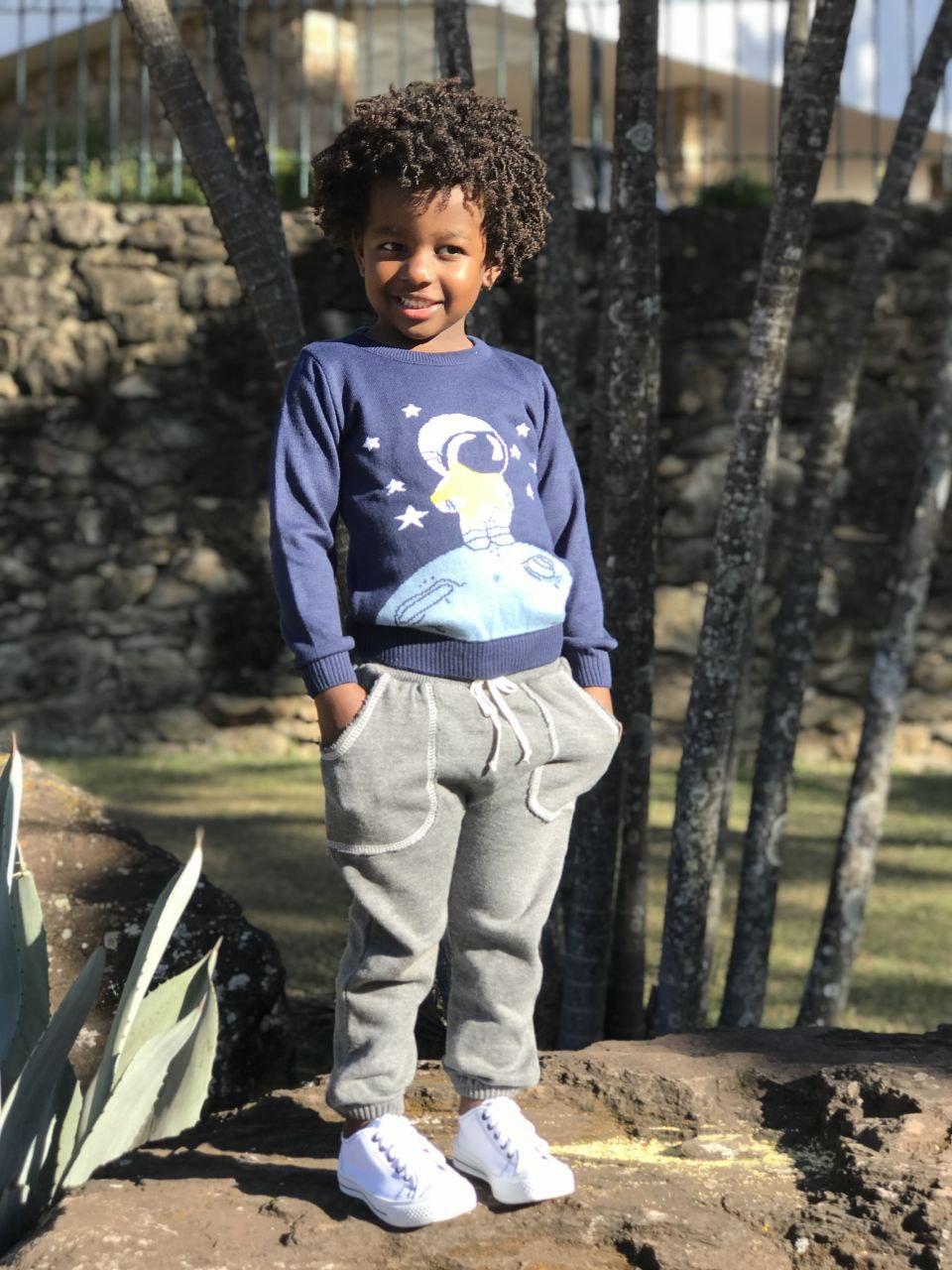 Sweater Tricot Infantil Menino John