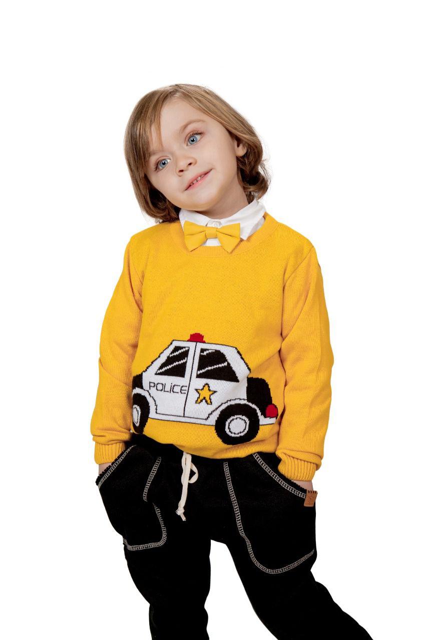 Sweater Tricot Infantil Menino Lian