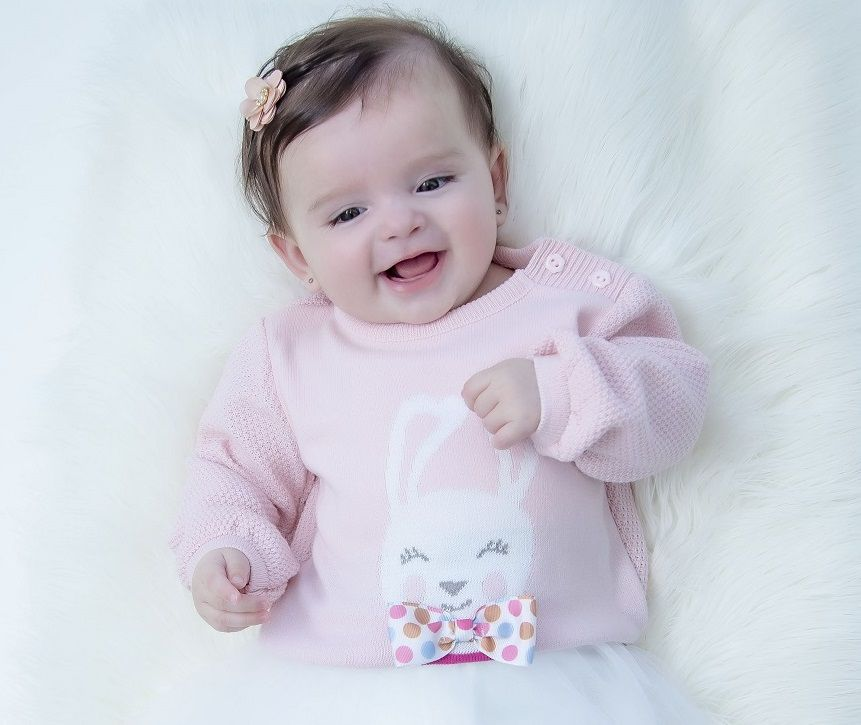 Sweater Tricot Infantil Sarah Baby