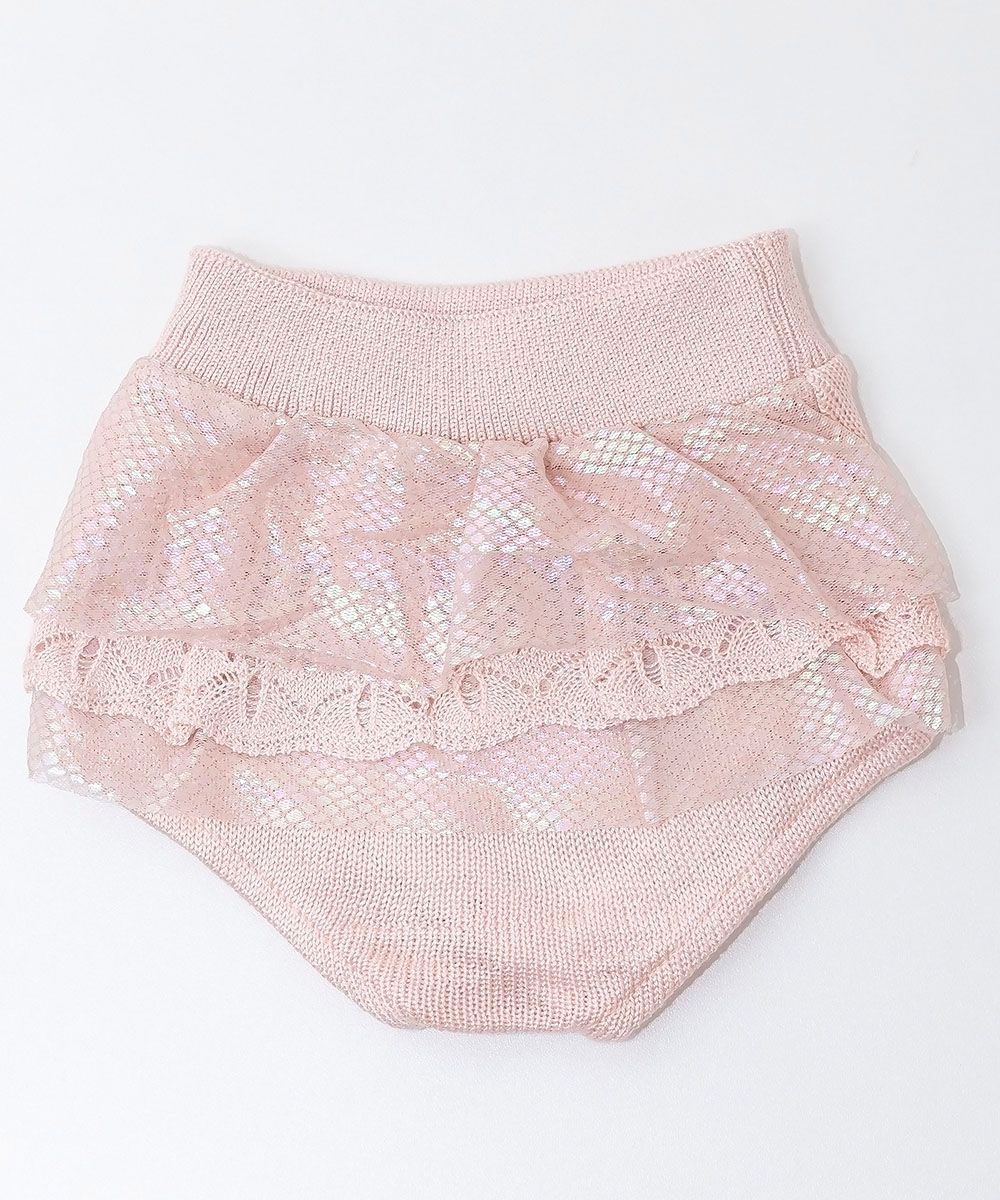 Tapa Fralda Tricot Bebê Menina Lulu