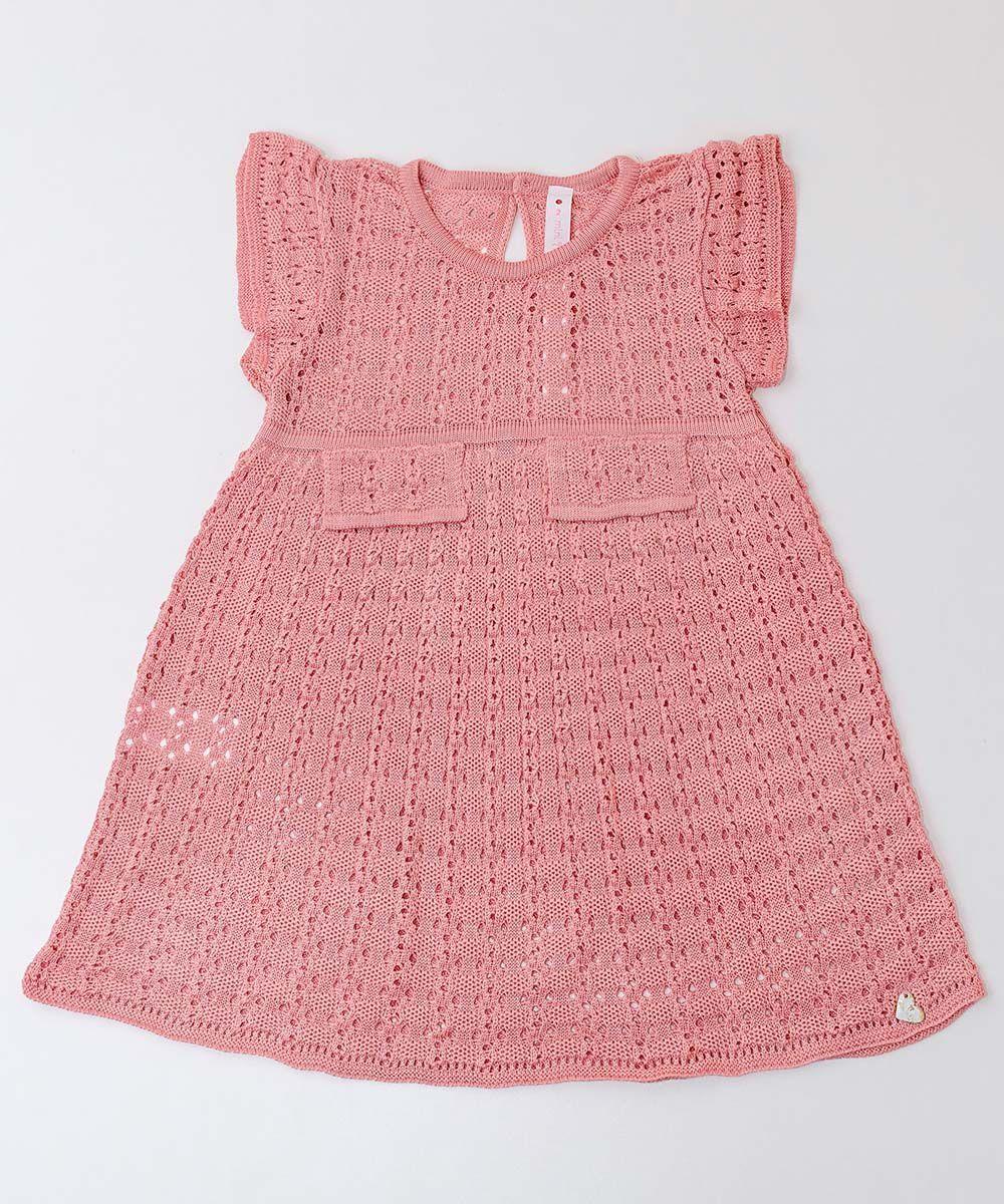 Vestido Tricot Infantil Menina Amelie