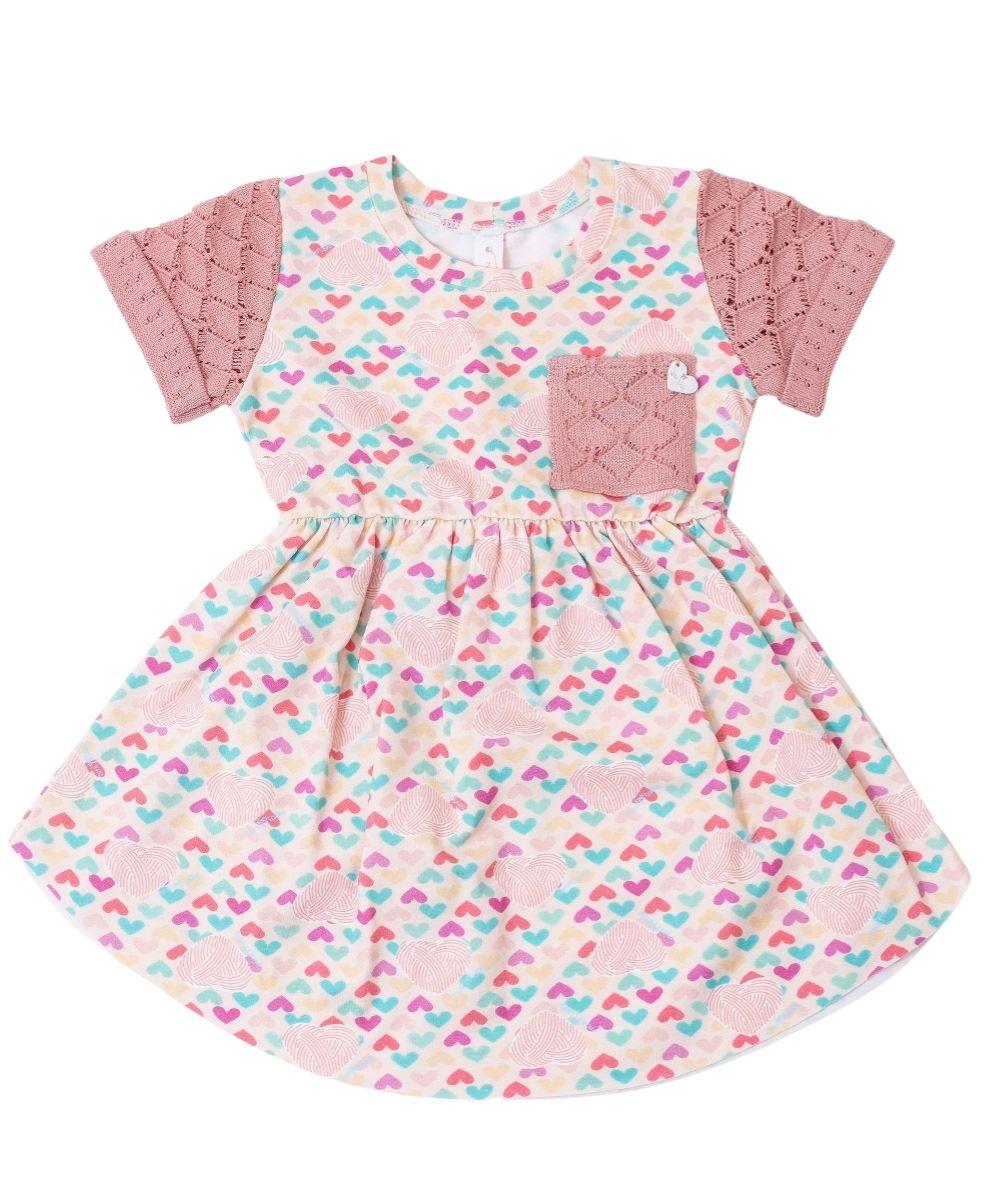Vestido Infantil Menina Cris