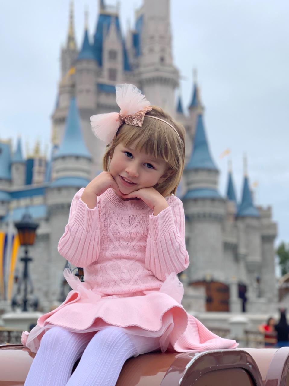 Vestido Tricot Infantil Menina Katherine