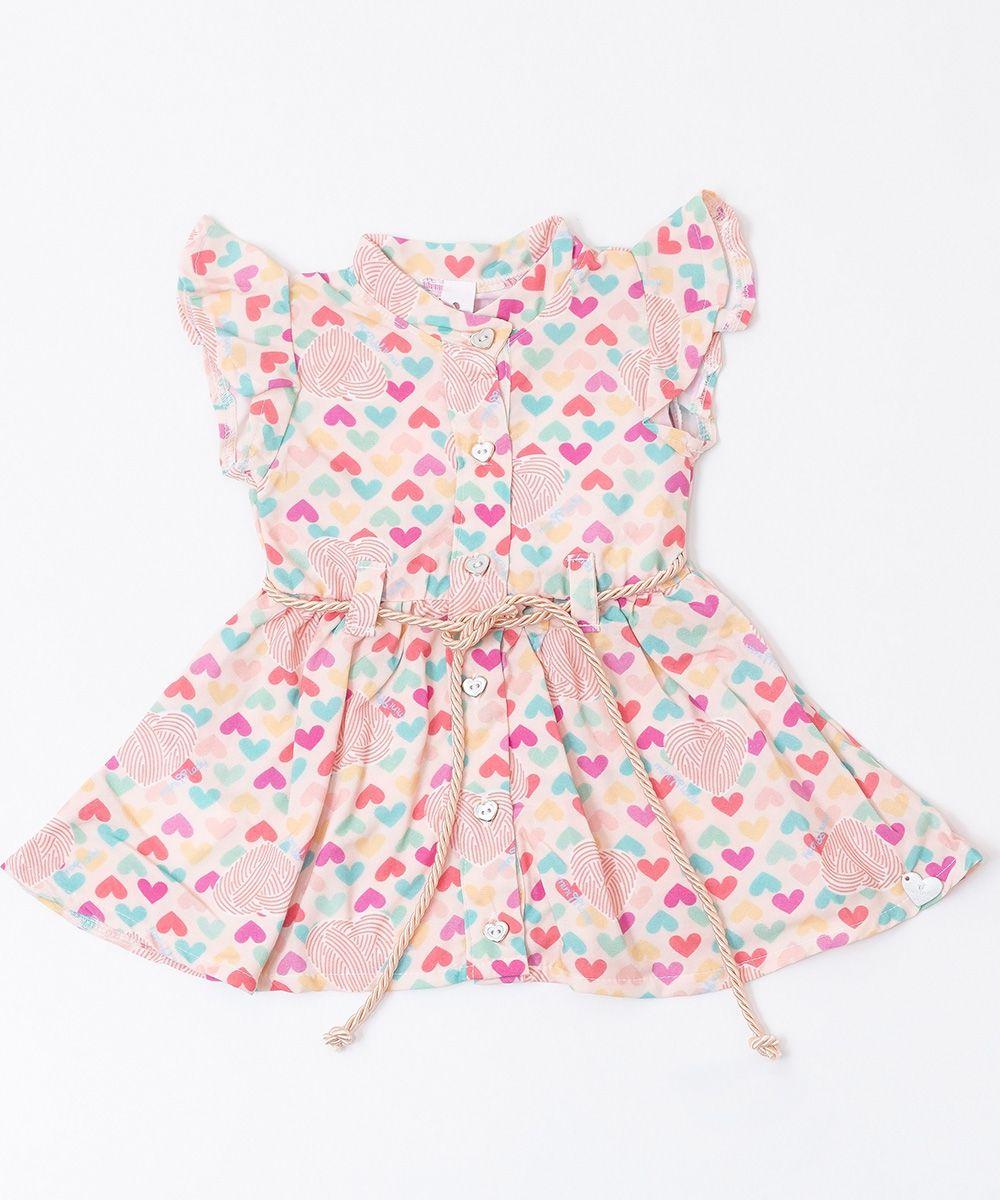 Vestido Bebê Menina Ludy