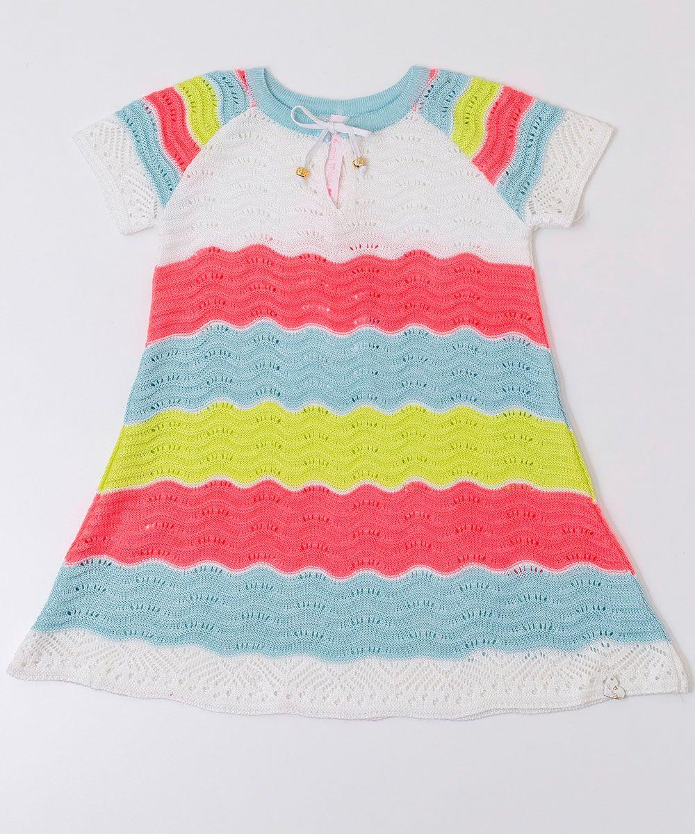Vestido Tricot Infantil Menina Jojô