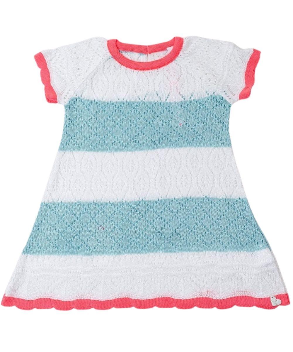 Vestido Tricot Infantil Menina Laise