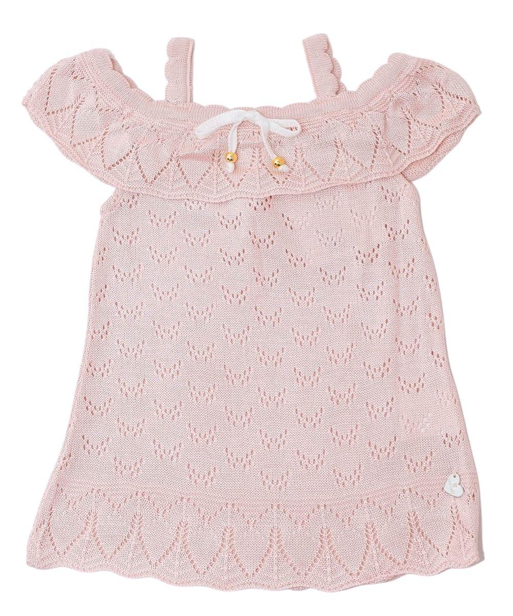 Vestido Tricot Infantil Menina Laurinda