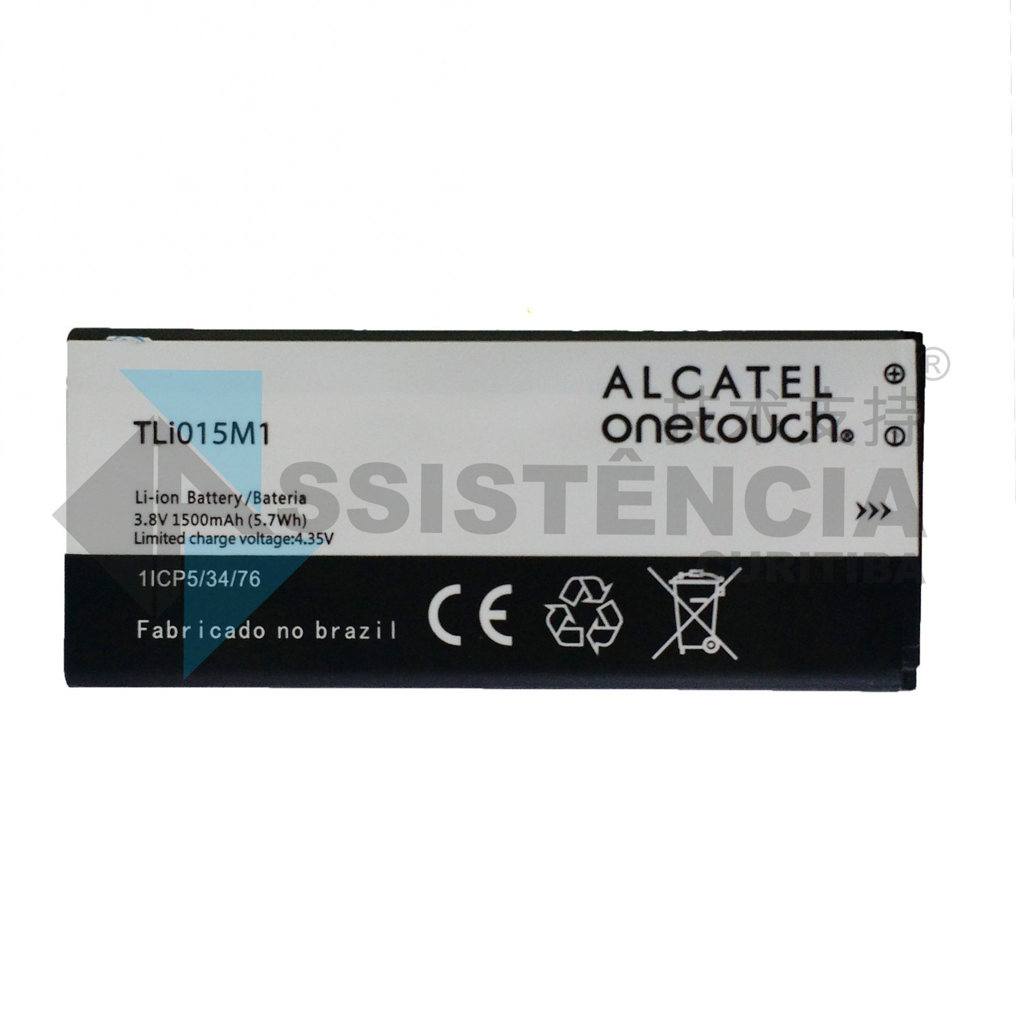 BATERIA CELULAR ALCATEL ONE TOUCH PIXI 4 4034 ORIGINAL