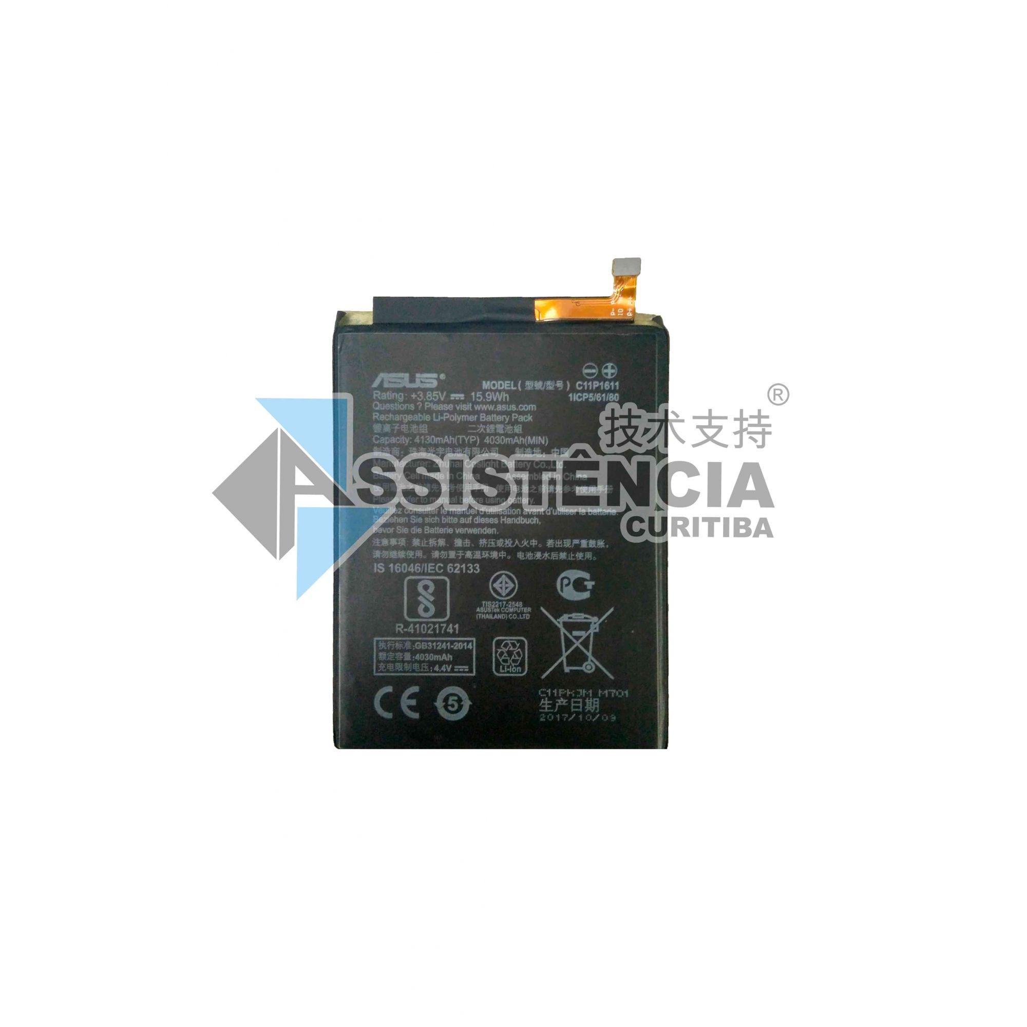BATERIA CELULAR ASUS ZENFONE 3 MAX C11P1611 ZC520TL X008D