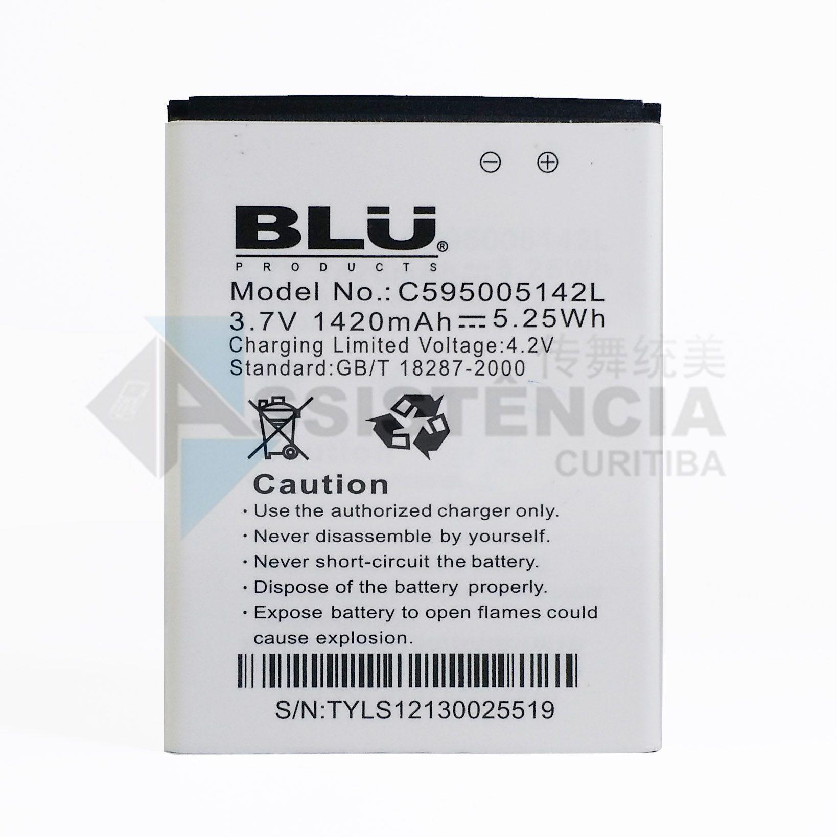 BATERIA CELULAR BLU STAR JR. 3.5 S350 S350A S350I ORIGINAL