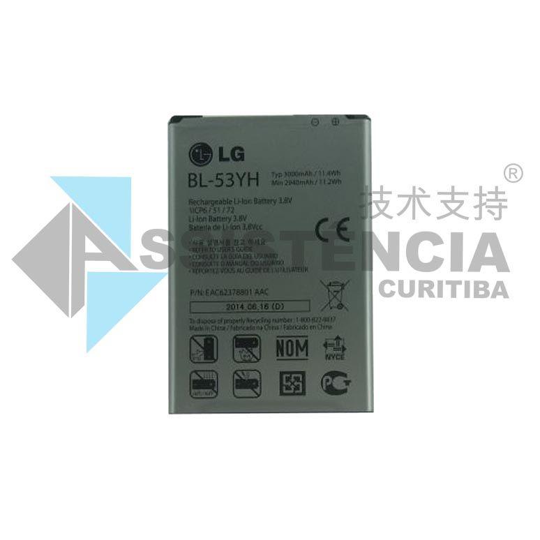 BATERIA CELULAR LG G3 BL-53YH D855 D830 D851 D850 2940MAH