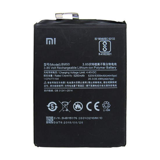 Bateria Xiaomi Mi Max 2 Bm50 Original