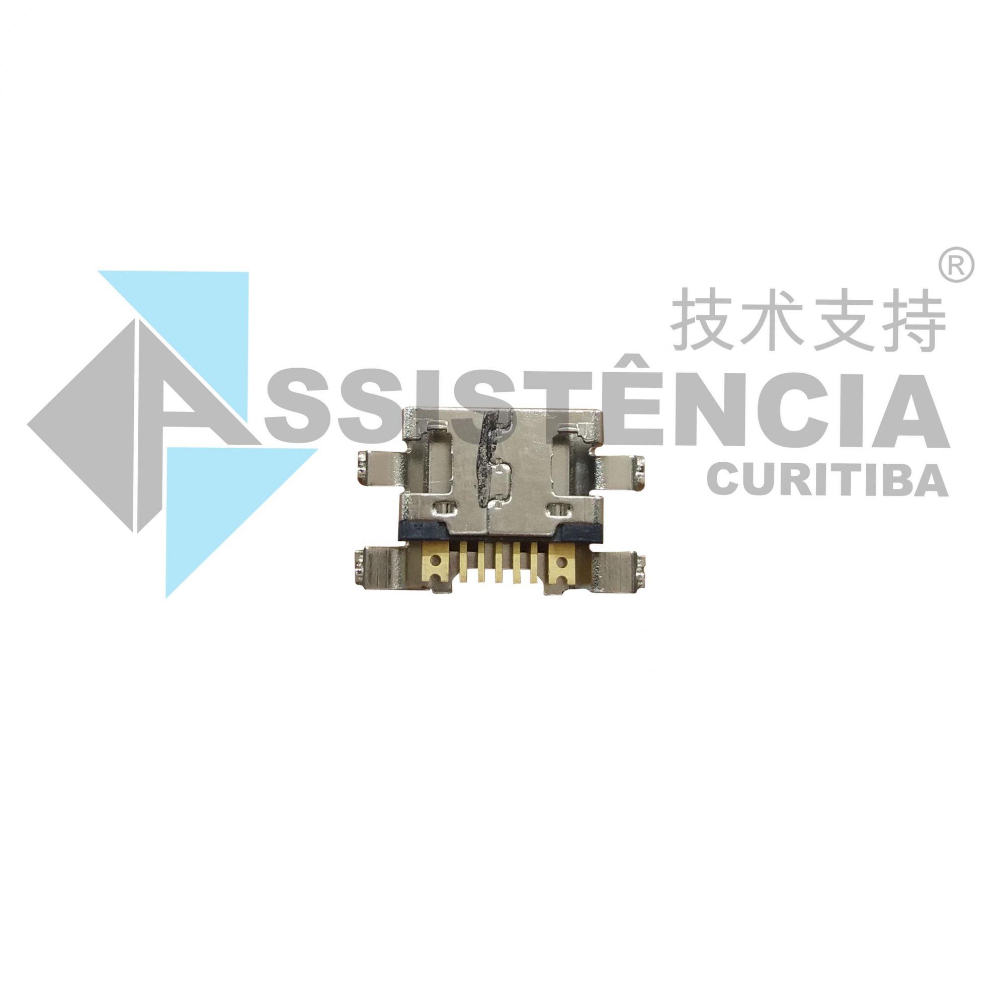 Conector De Carga E Usb Lg K4 2017 X230 X230Ds Original