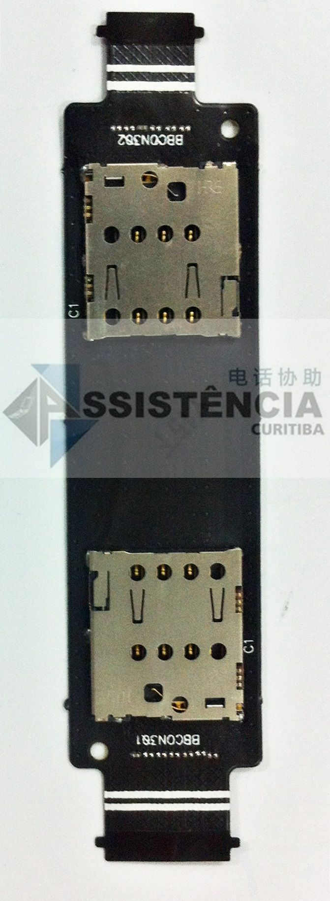 CONECTOR DO CHIP SIM CARD SLOT ASUS ZENFONE 5 A501