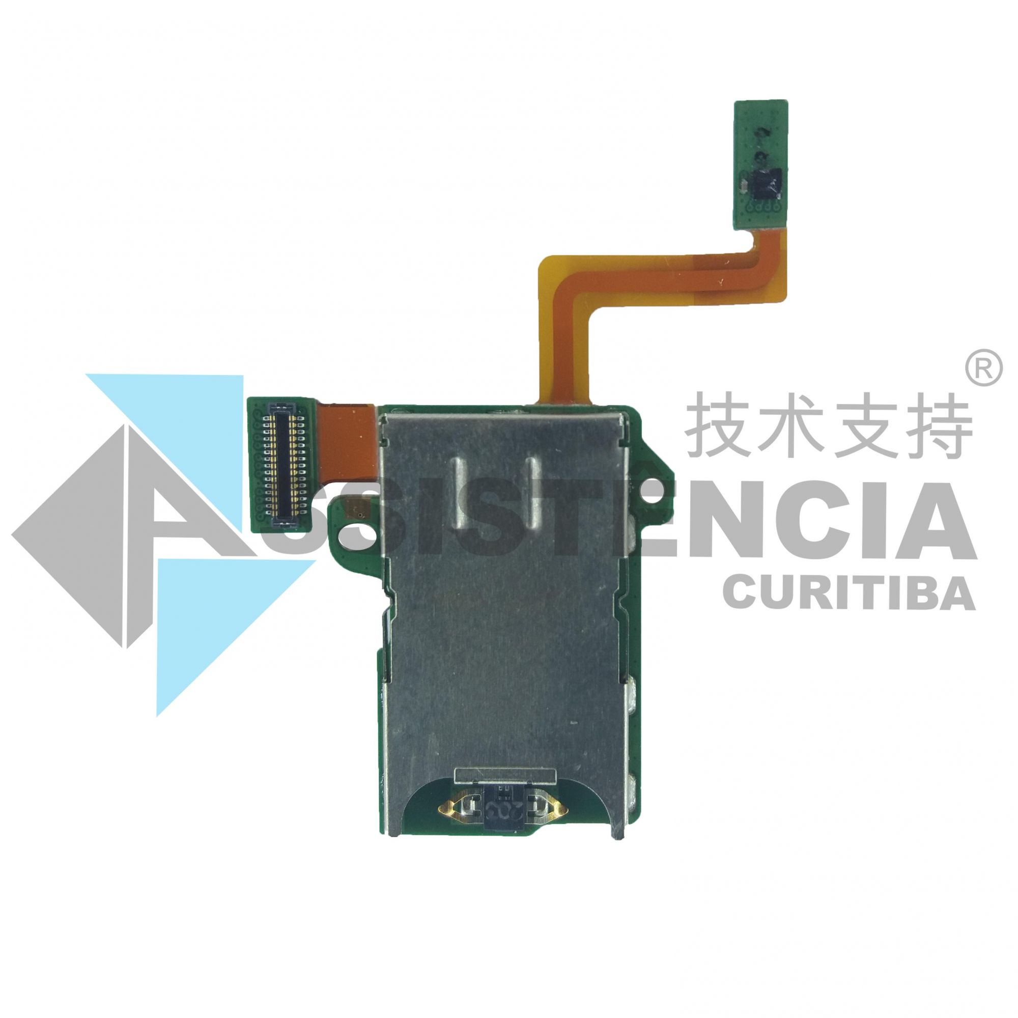 CONECTOR FLEX SLOT CHIP SIM CARD MOTOROLA MOTO Z PLAY