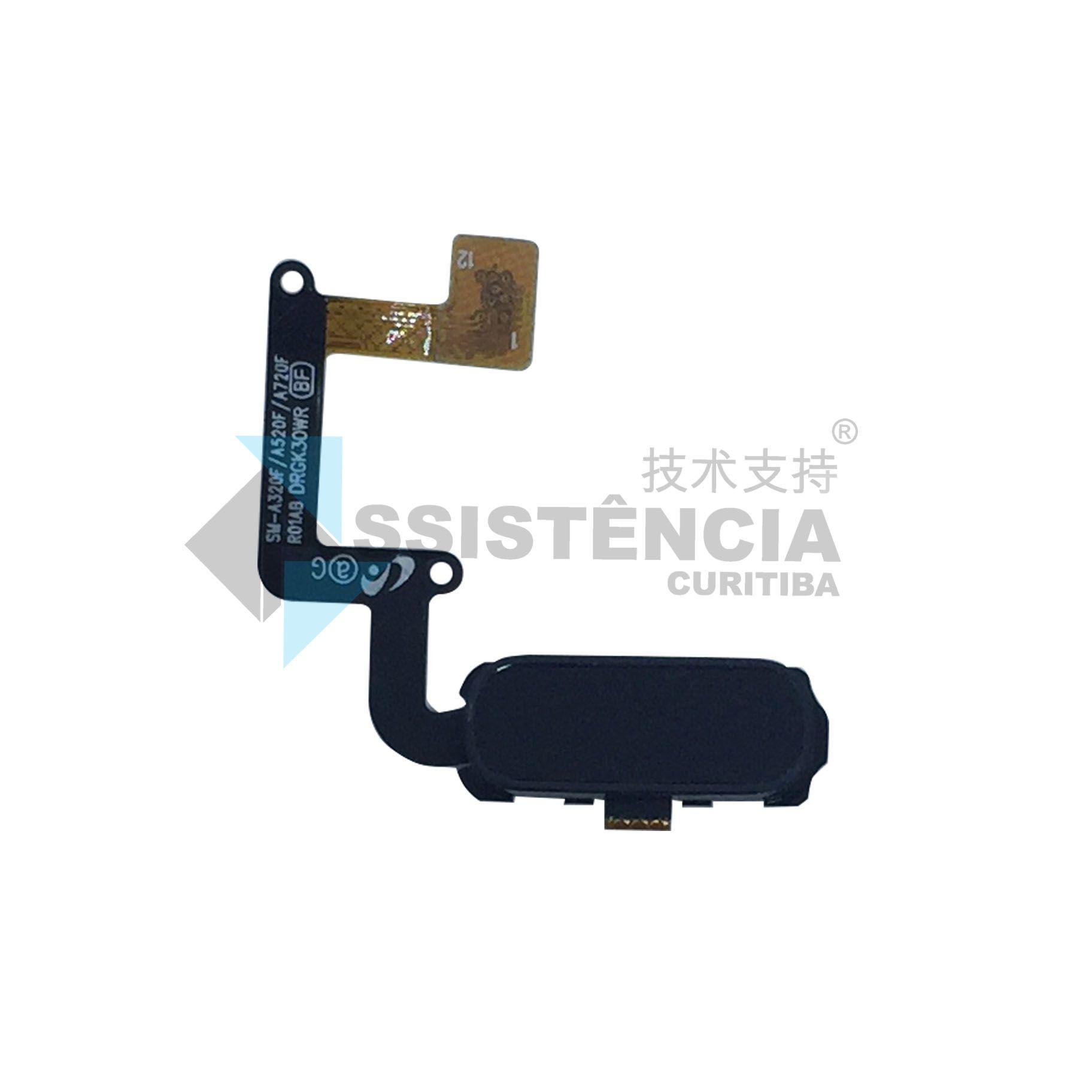 Flex Botão Home Samsung Galaxy A5 A520 Original