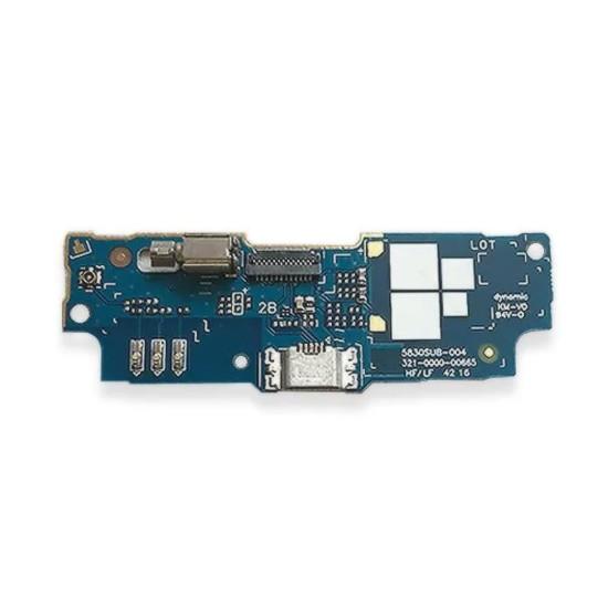 Flex Placa Conector De Carga Asus Zenfone Zb552Kl X007D