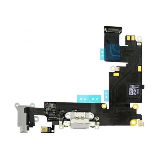 FLEX PLACA CONECTOR DE CARGA CELULAR APPLE IPHONE 6S PLUS CINZA ORIGINAL