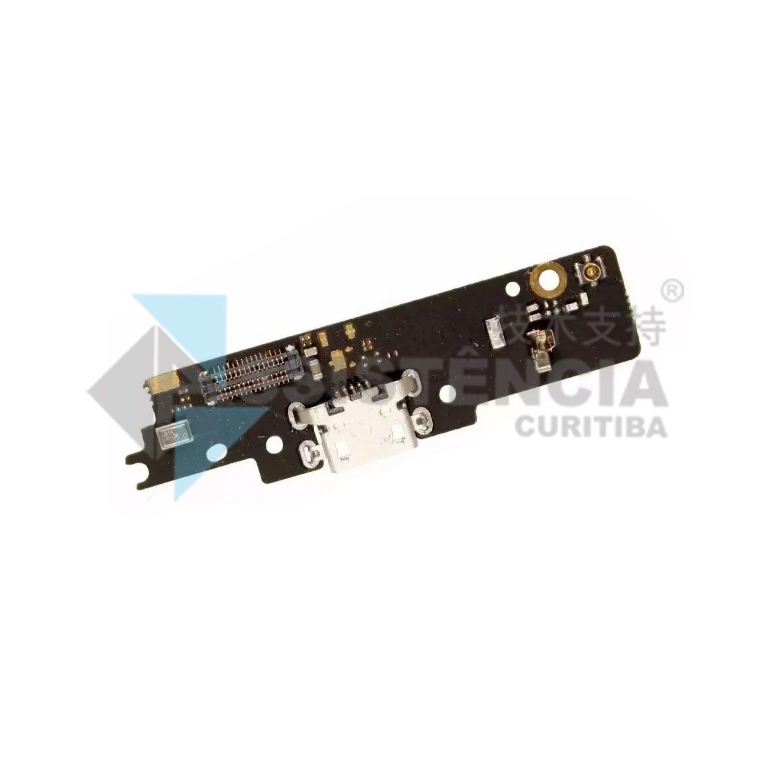 Flex Placa Conector De Carga Motorola Moto G4 Play Xt1600 Xt1601 Xt1603 Original