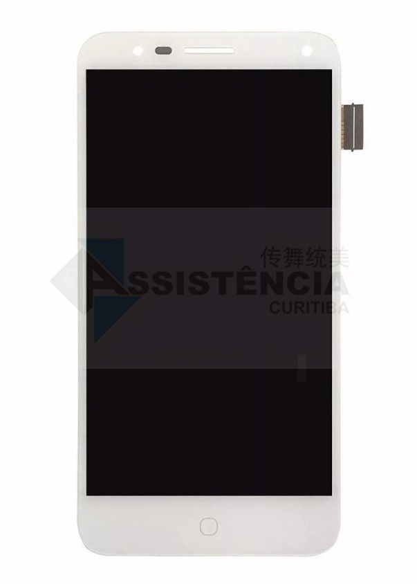 FRONTAL DISPLAY COM TOUCH CELULAR ALCATEL POP 4 5051 5051D 5051X BRANCO