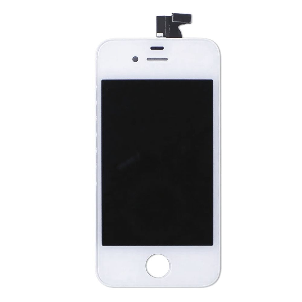 FRONTAL DISPLAY COM TOUCH CELULAR APPLE IPHONE 4 4G A1332 A1349 BRANCO