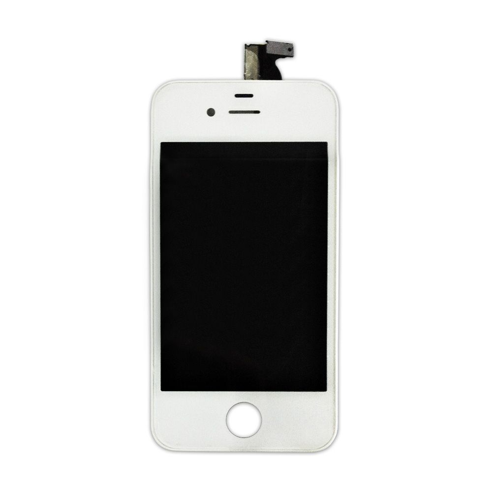 FRONTAL DISPLAY COM TOUCH CELULAR APPLE IPHONE 4S A1387 A1431 BRANCO