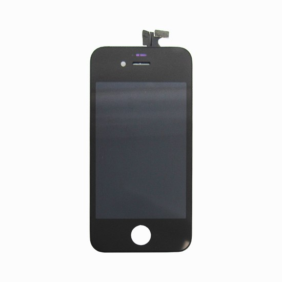 FRONTAL DISPLAY COM TOUCH CELULAR APPLE IPHONE 4S A1387 A1431 PRETO