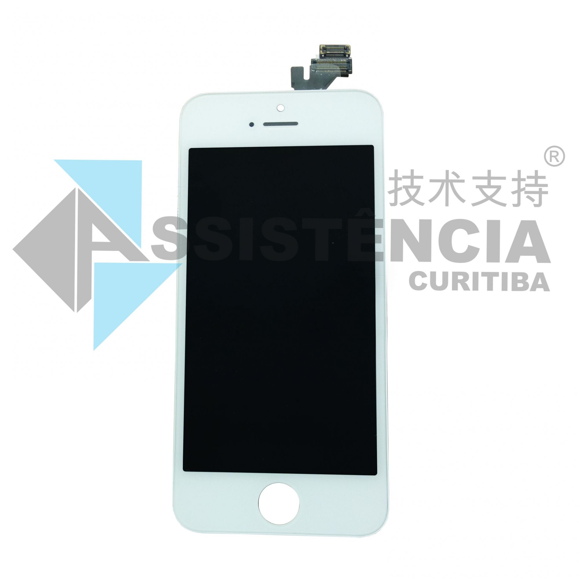 FRONTAL DISPLAY COM TOUCH CELULAR APPLE IPHONE 5 5G A1428 A1429 BRANCO