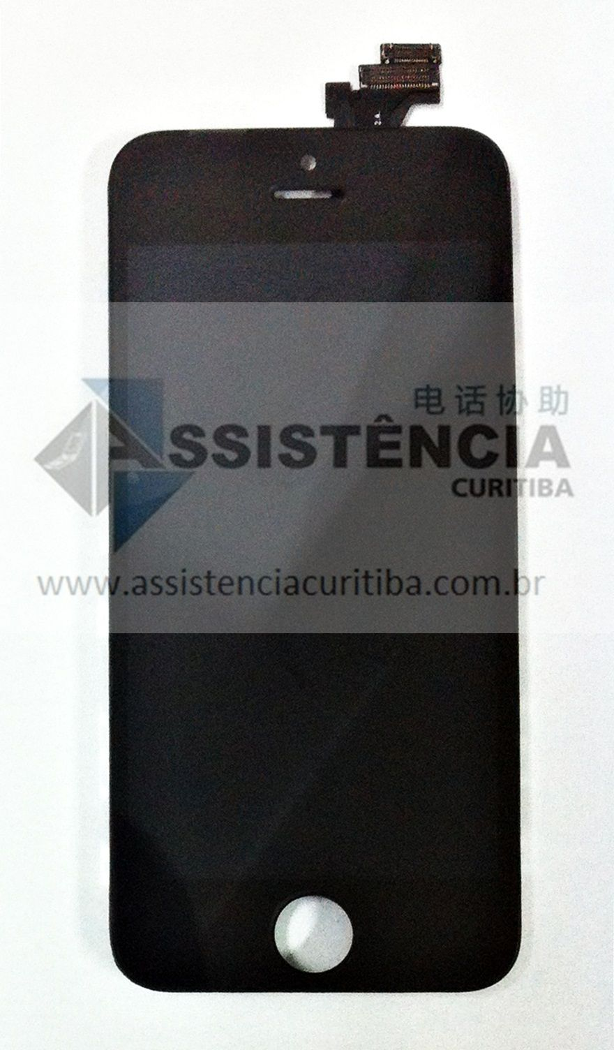 FRONTAL DISPLAY COM TOUCH CELULAR APPLE IPHONE 5 5G A1428 A1429 PRETO