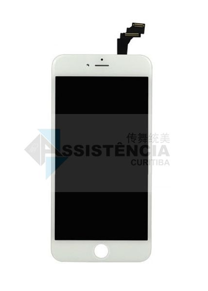 FRONTAL DISPLAY COM TOUCH CELULAR APPLE IPHONE 6 PLUS A1522 A1524 A1593 BRANCO