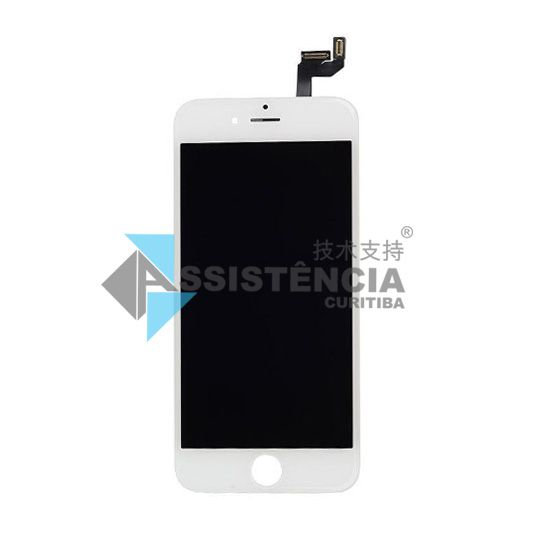 FRONTAL DISPLAY COM TOUCH CELULAR APPLE IPHONE 6S PLUS A1634 A1687 A1699 BRANCO