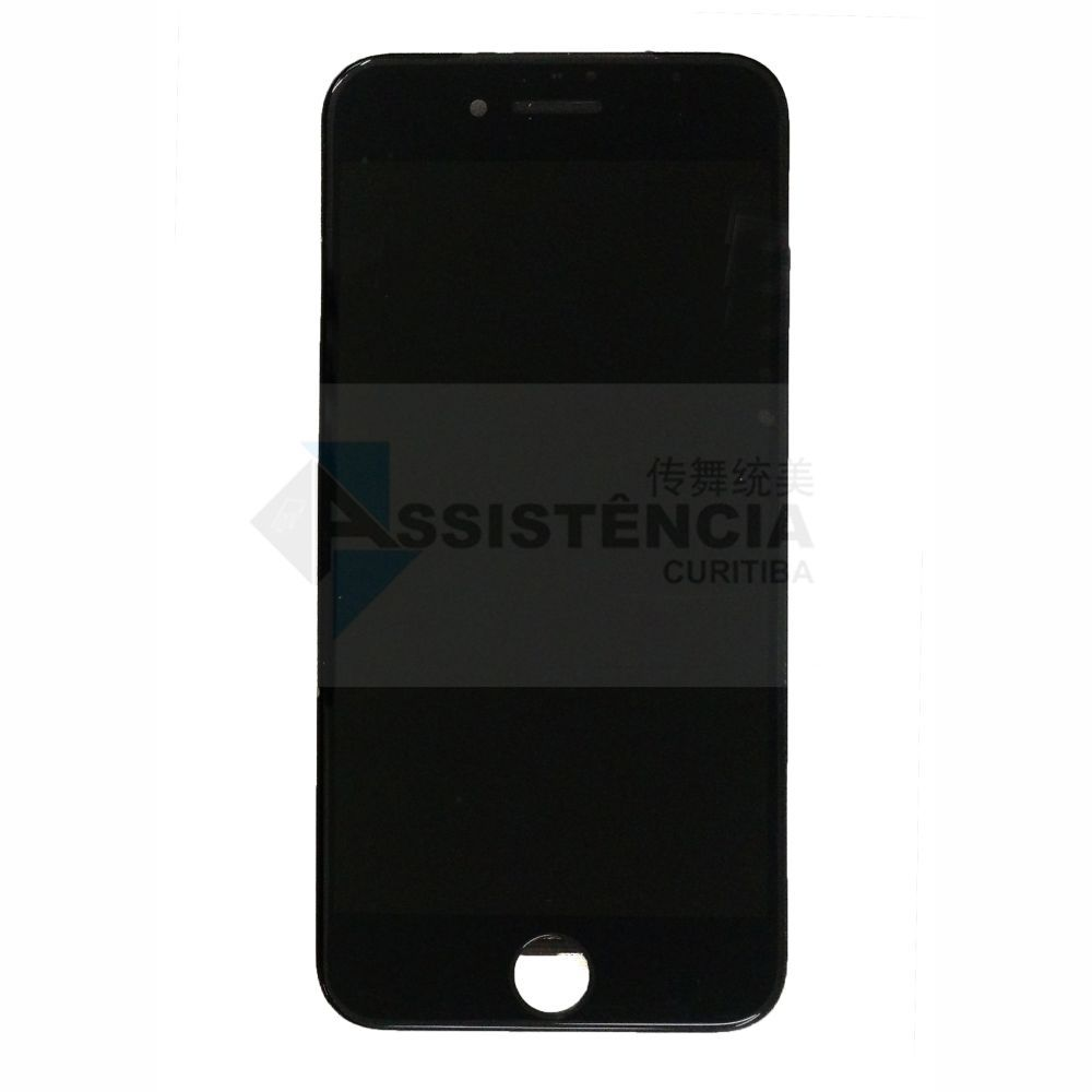 FRONTAL DISPLAY COM TOUCH CELULAR APPLE IPHONE 7 7G A1778 A1779 PRETO