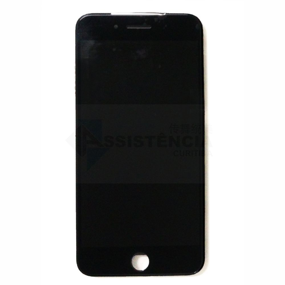 FRONTAL DISPLAY COM TOUCH CELULAR APPLE IPHONE 7 PLUS 5.5 A1661 A1784 A1785 A1786 PRETO
