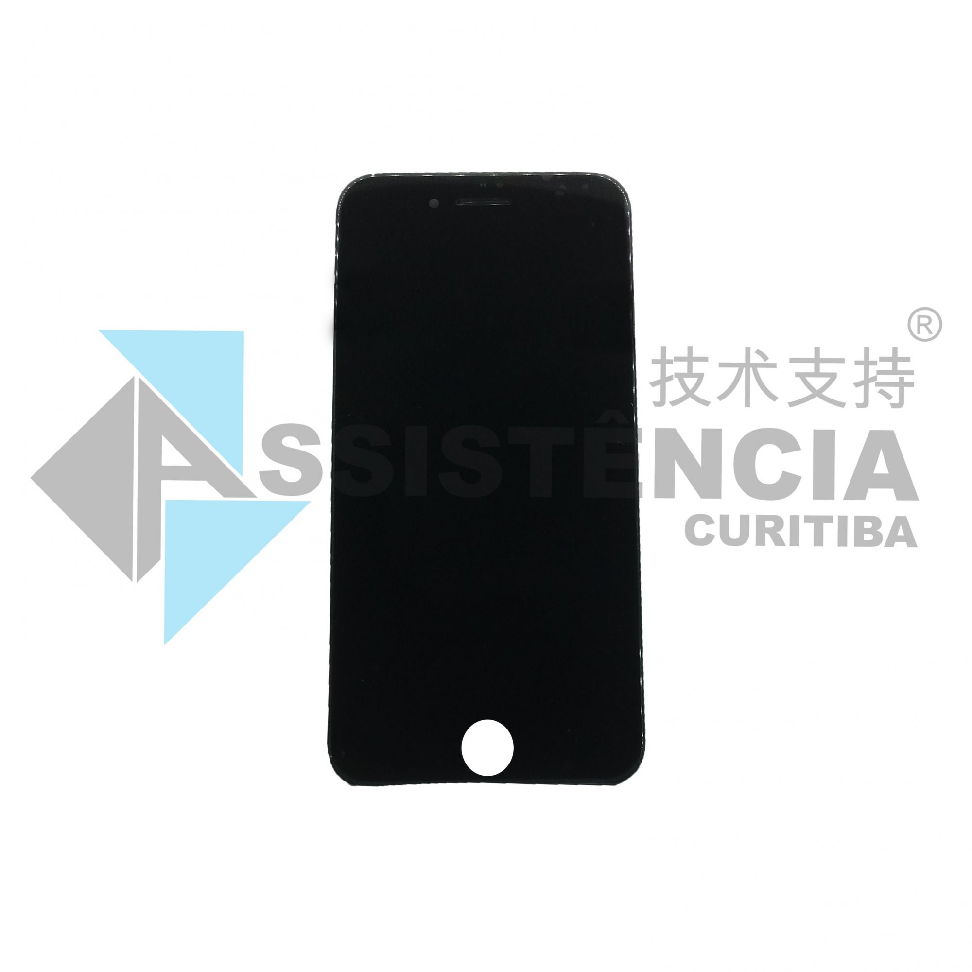 FRONTAL DISPLAY COM TOUCH CELULAR APPLE IPHONE 8 A1863 PRETO