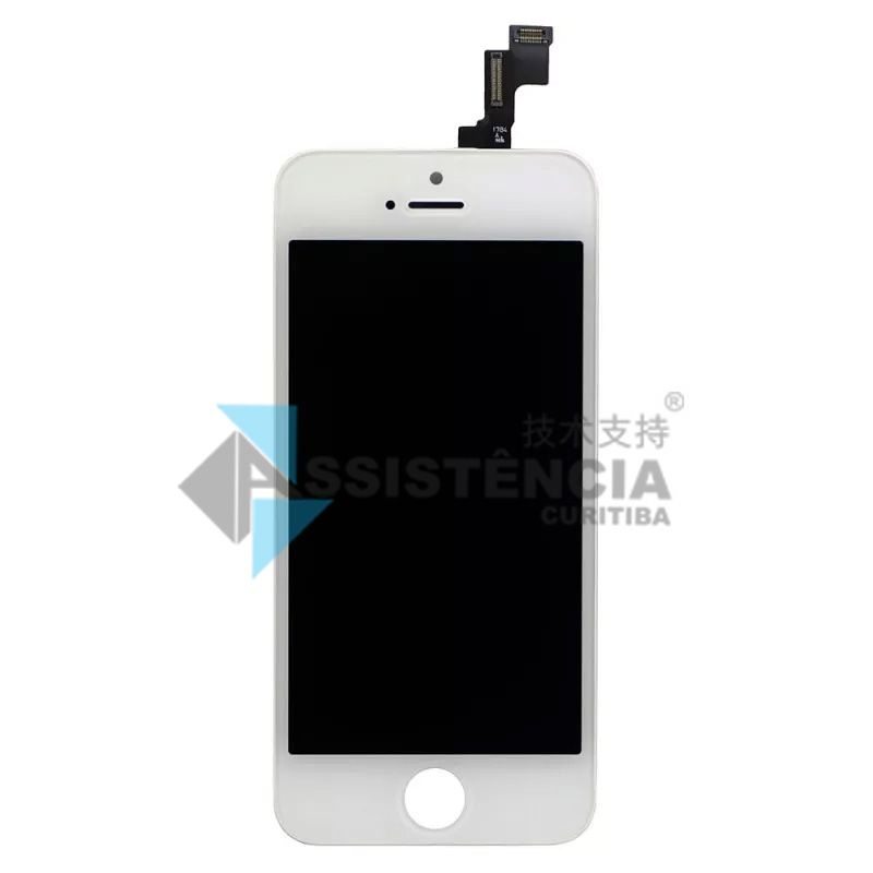 FRONTAL DISPLAY COM TOUCH CELULAR APPLE IPHONE SE A1662 A1723 A1724 BRANCO