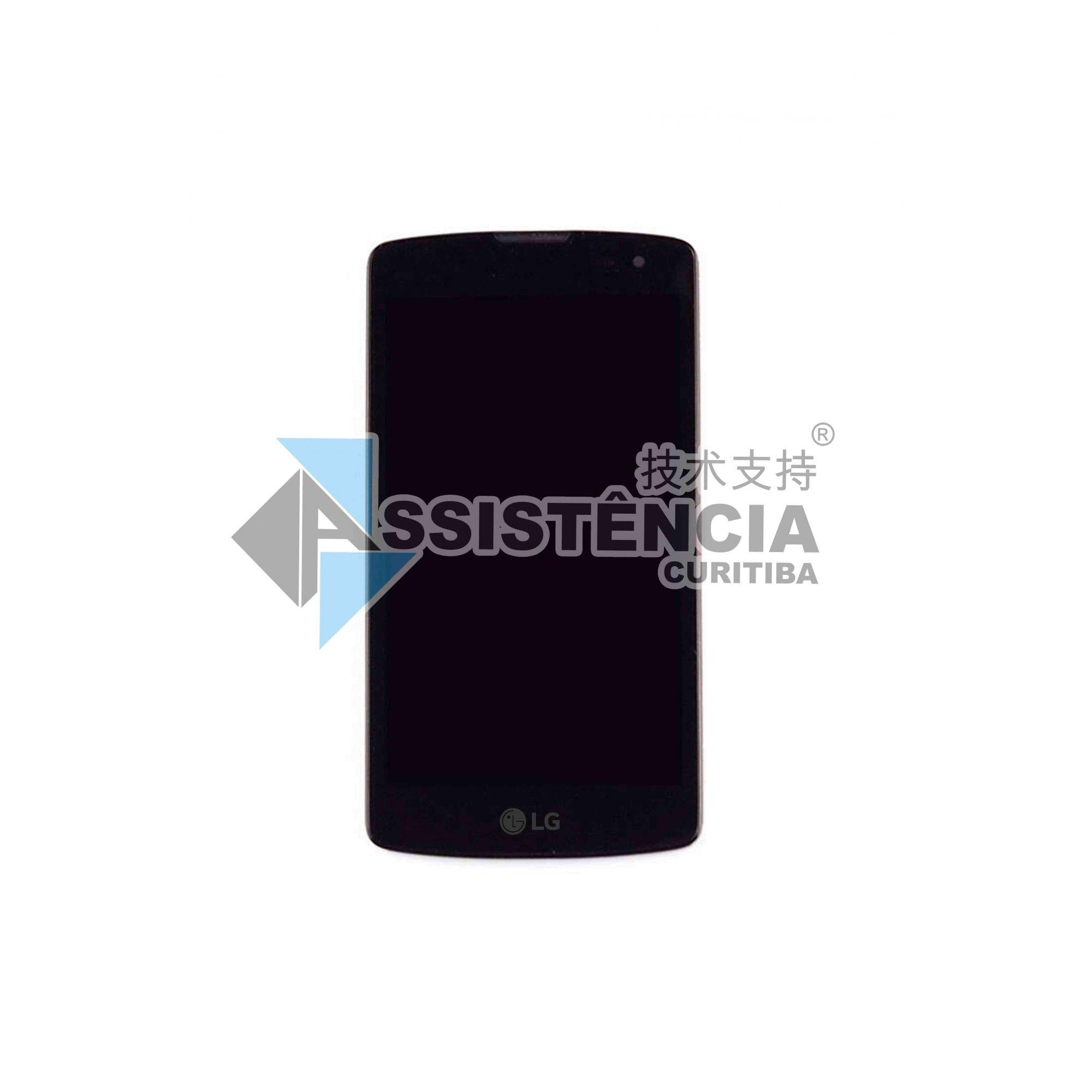 FRONTAL DISPLAY COM TOUCH CELULAR LCD LG L-FINO D290 C/ARO PRETO