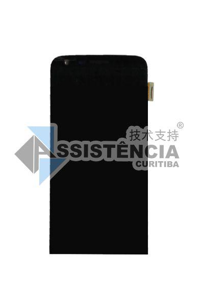 FRONTAL DISPLAY COM TOUCH CELULAR LG G5 LS992 H840 H860 H830 C/ ARO PRETO