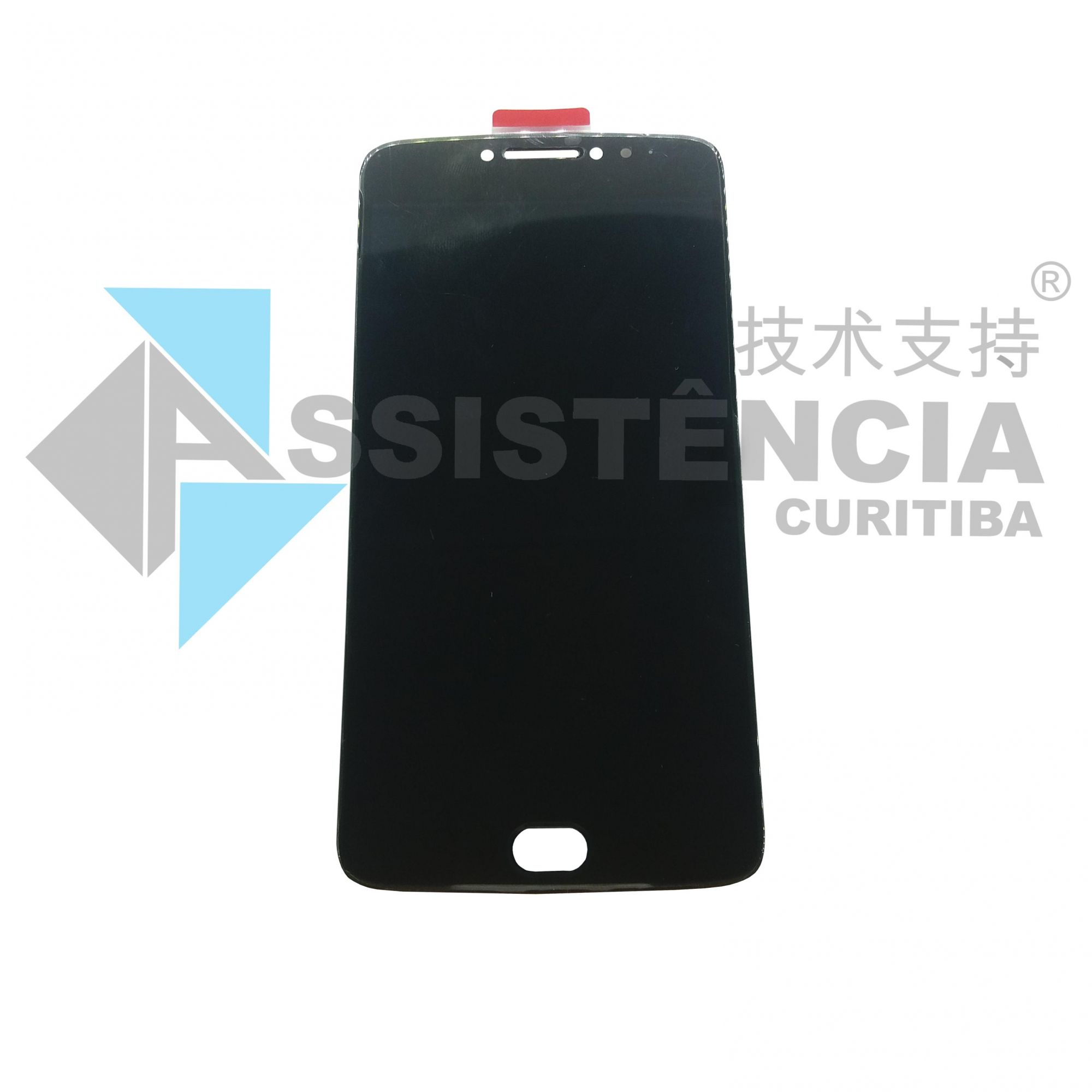 FRONTAL DISPLAY COM TOUCH CELULAR MOTOROLA MOTO E4 PLUS XT1770 XT1771 XT1773 PRETO