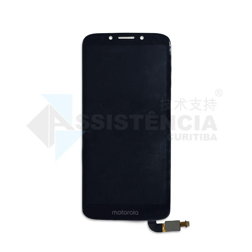 Tela Display Motorola Moto E5 Play Xt1920 Xt1920-19 Preto Flex Longo