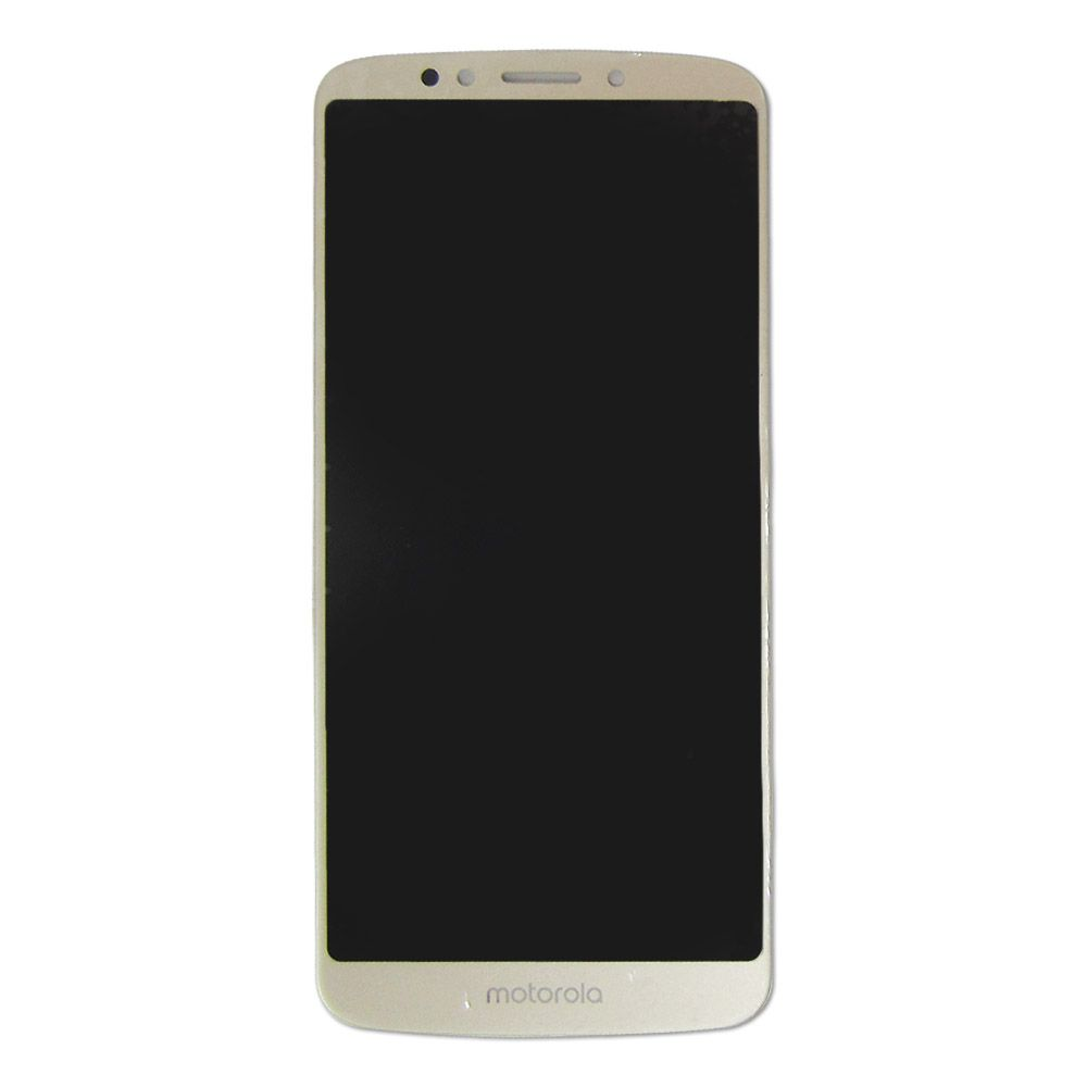 FRONTAL DISPLAY COM TOUCH CELULAR MOTOROLA MOTO E5 PLUS XT1924-4 DOURADO