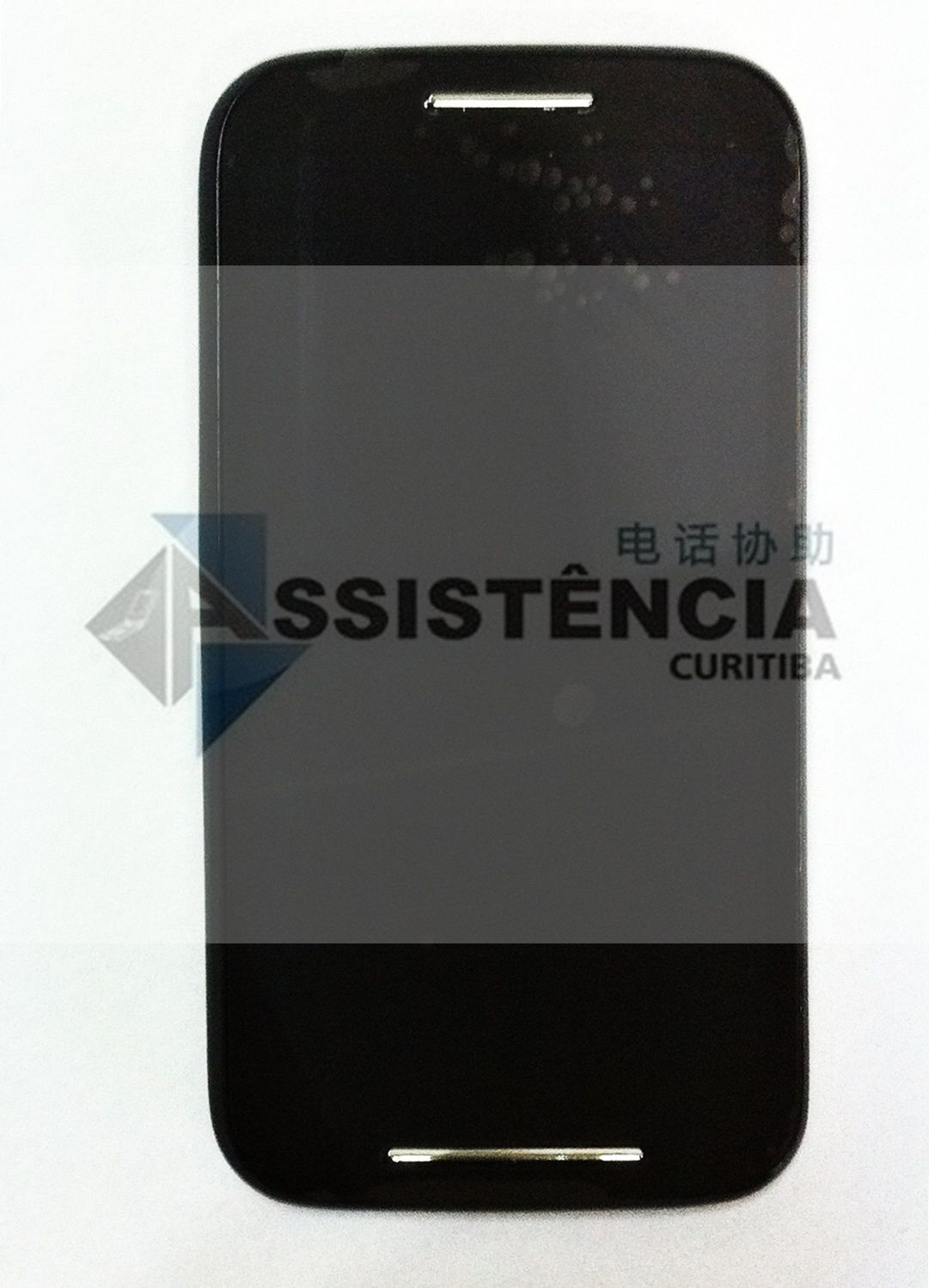Tela Display Motorola Moto E Xt1021 Xt1022 Xt1025 Com Aro Preto