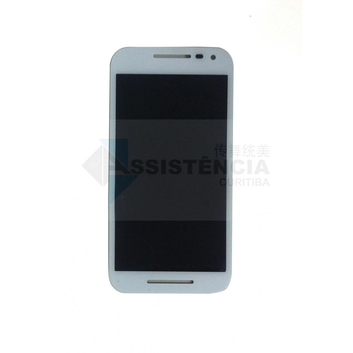 Tela Display Motorola Moto G3 Xt1542 Xt1543 Xt1544 Xt1550 Xt1556 Branco