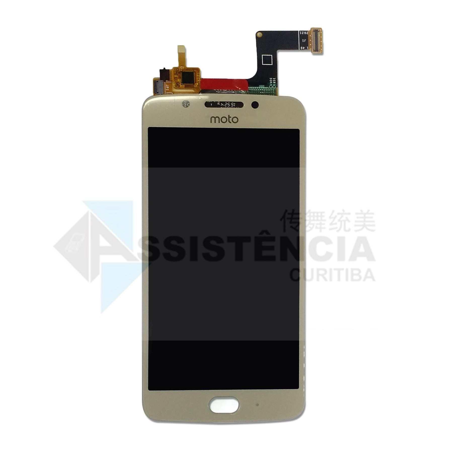 Tela Display Motorola Moto G5 Xt1670 Dourado