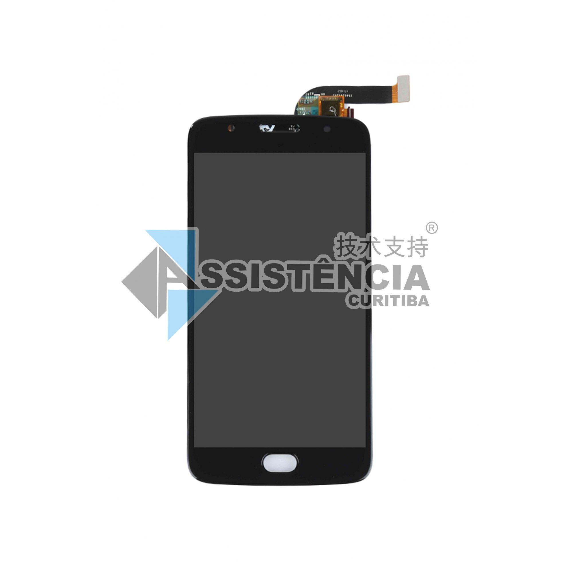 Tela Display Motorola Moto G5S Xt1792 Preto