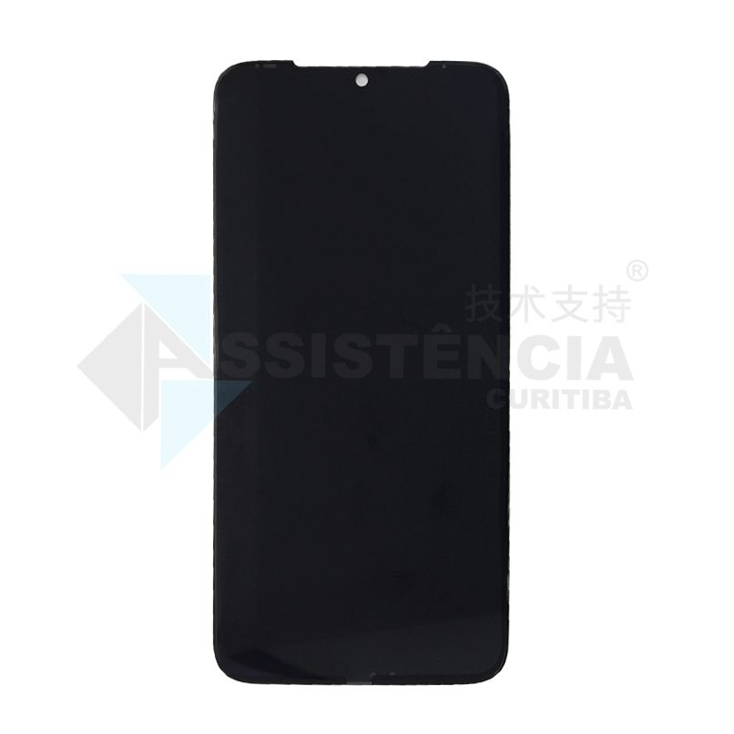 FRONTAL DISPLAY COM TOUCH CELULAR MOTOROLA MOTO G8 PLUS XT2019 PRETO