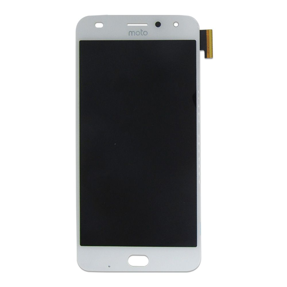 FRONTAL DISPLAY COM TOUCH CELULAR MOTOROLA MOTO Z2 PLAY XT1710 ORIGINAL BRANCO