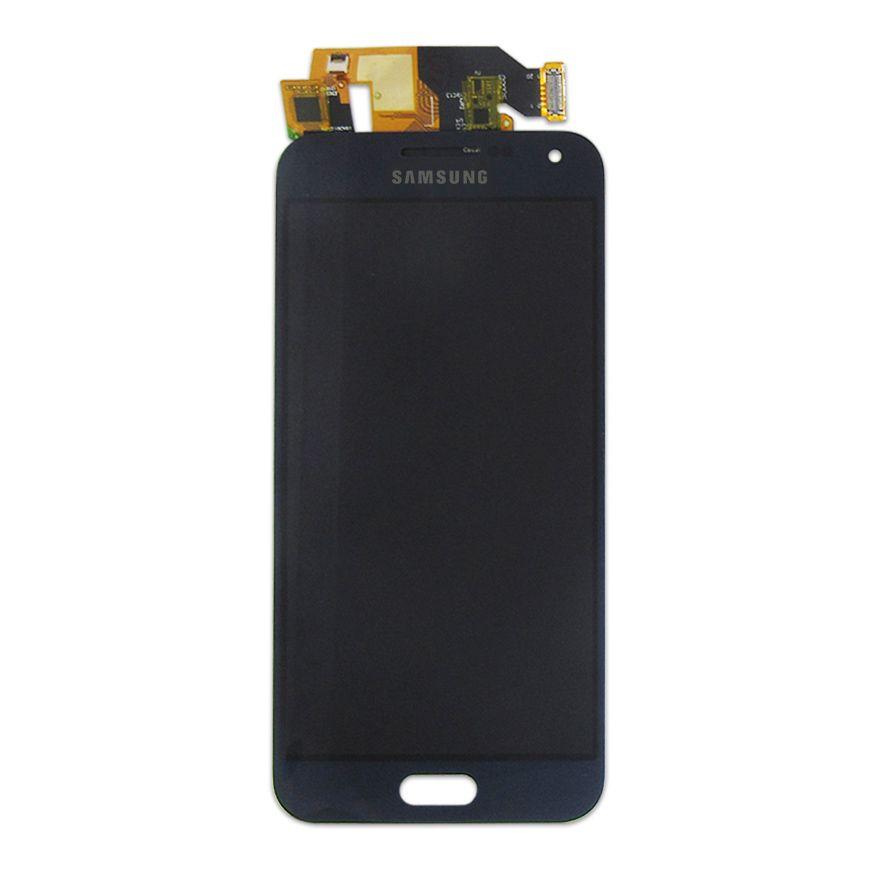 Tela Display Samsung E5 Sm-E500M Com Brilho Azul