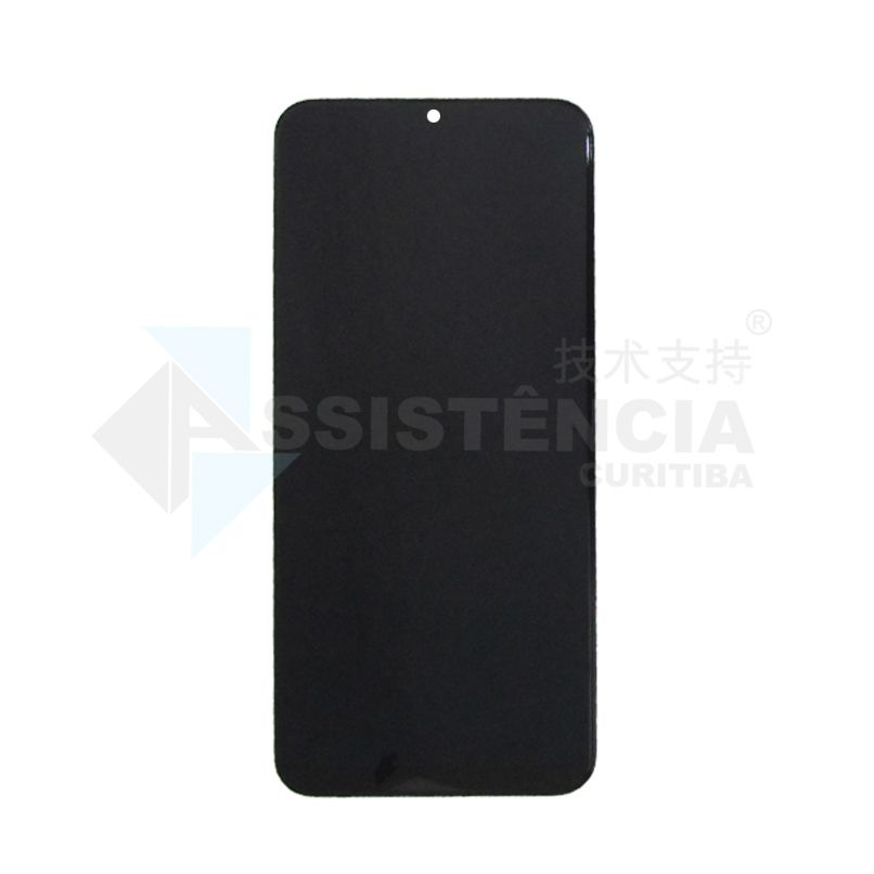 FRONTAL DISPLAY COM TOUCH CELULAR SAMSUNG GALAXY A30S A307 COM ARO ORIGINAL